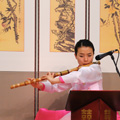 indonésie: At Incheon Airport you can get acquainted with Korean culture in so called Culture Centers. This is traditional music exhibition.